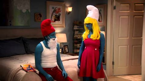 The Big Bang Theory - Smurf and Smurfette - YouTube