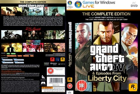 Grand Theft Auto IV: The Complete Edition - DVD obal