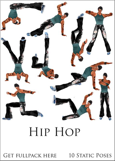 FD POSES hip hop | 10 dance poses inspired at hip hop